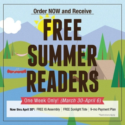 Flash Sale: Free Summer Readers
