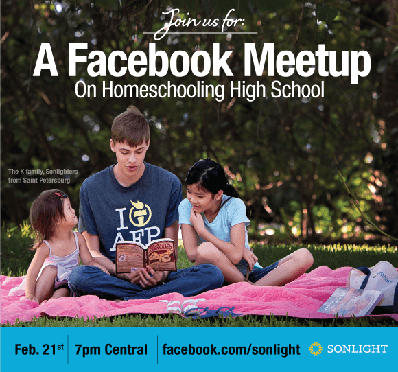 Homeschool high school Facebook meetup