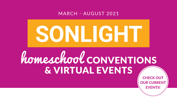 Sonlight Homeschool Conventions & Online Homeschooling Events