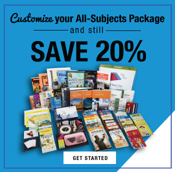 Customize your All-Subjects Package and still save 20%