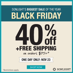 Black Friday Sale: 40% off + free shipping*