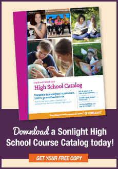 Download Sonlight's High School course catalog