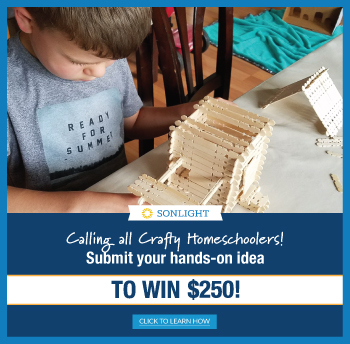 Calling all crafty homeschoolers! Submit your hands-on idea to win $250!