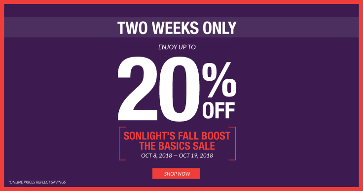 Save up to 20% in Sonlight's Fall Boost the Basics Sale!