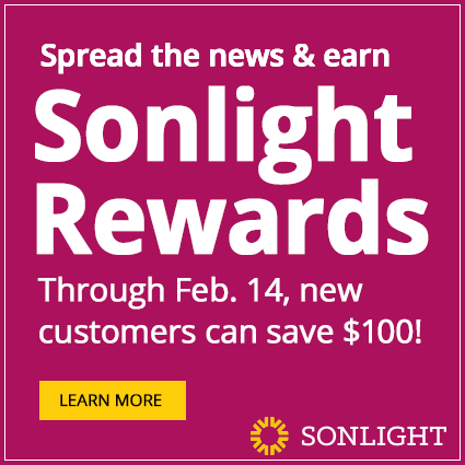 Spread the news: Through Feb. 14, new customers can save up to $100
