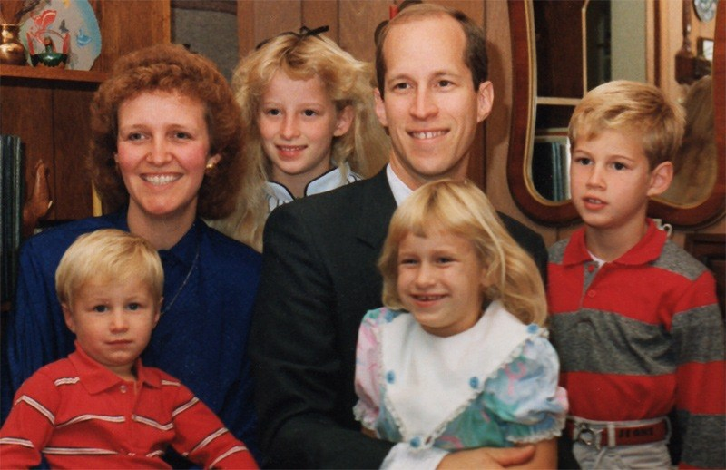 The Holzmann Family in 1989