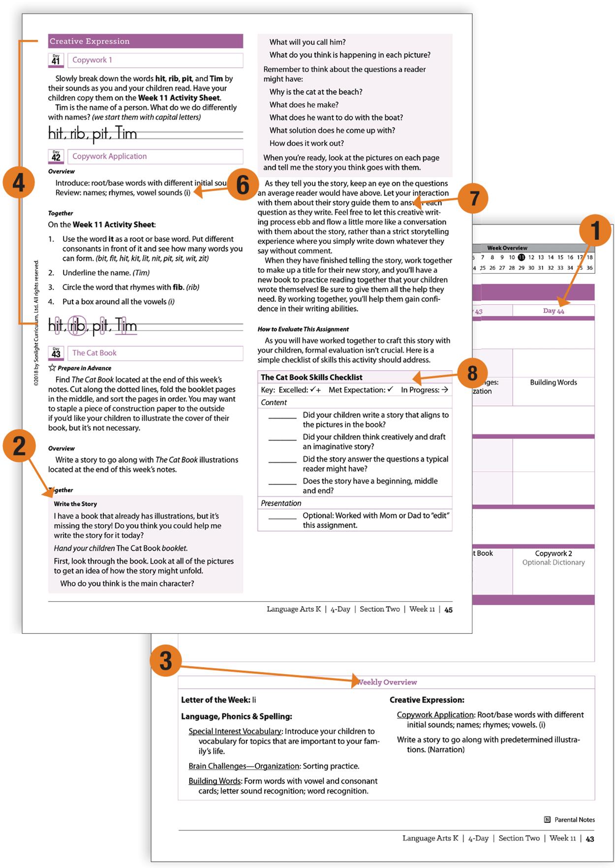 Peek inside a Sonlight Instructor's Guide (IG)