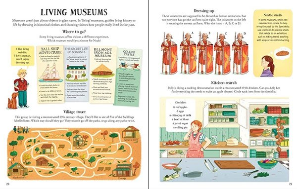 Museum Activity Book: living museums