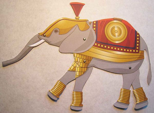 Famous Figures of Ancient Times: Hannibal's Elephant