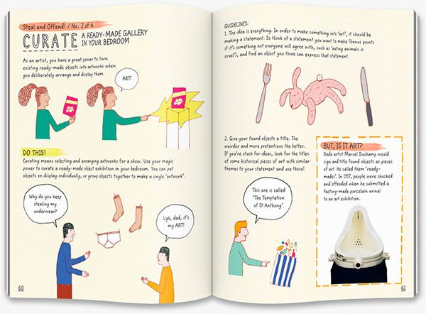 This Book Thinks You're an Artist: curate