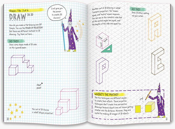 This Book Thinks You're a Math Genius: draw