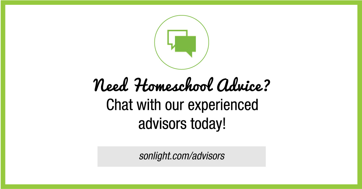 Need Homeschool Advice? Chat with our experience advisors today!
