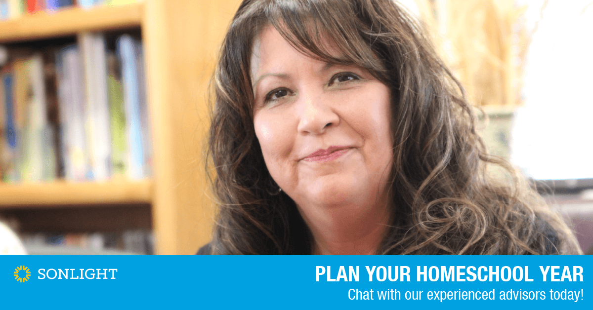 Plan your homeschool year. Chat with our experience advisors today!