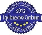 2012 Homeschool-Curriculum.org 5-Star Awards