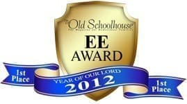 2012 The Old Schoolhouse Magazine Awards of Excellence in Education