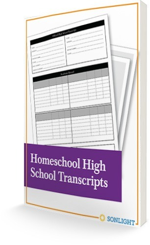 Free Homeschool High School Transcripts eBook
