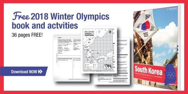 2018 Winter Olympics FREE printable activity eBook