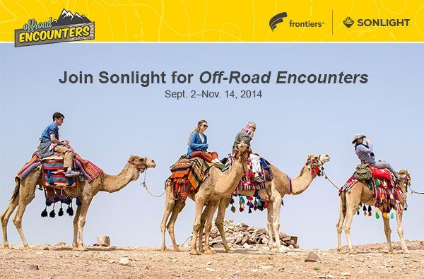 Join Sonlight for Off-Road Encounters