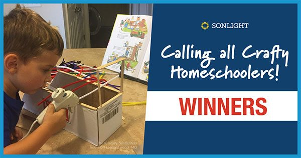 Crafty Homeschooler Winners