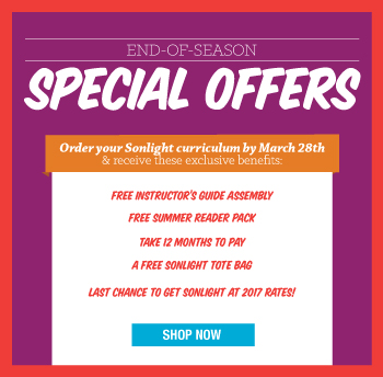 End-of-Season Special Offers