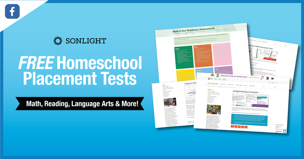Free Homeschool Placement Tests | Homeschool Testing