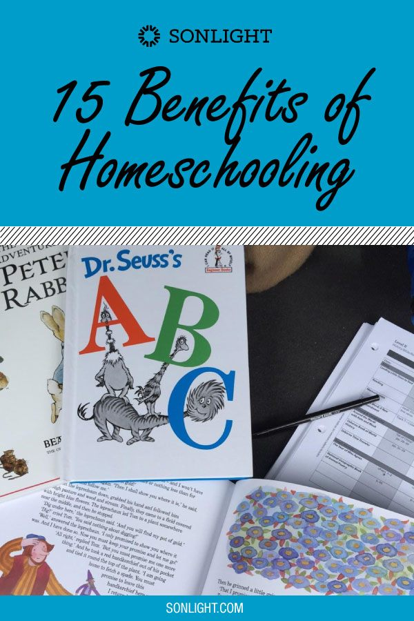 15 Benefits of Homeschooling