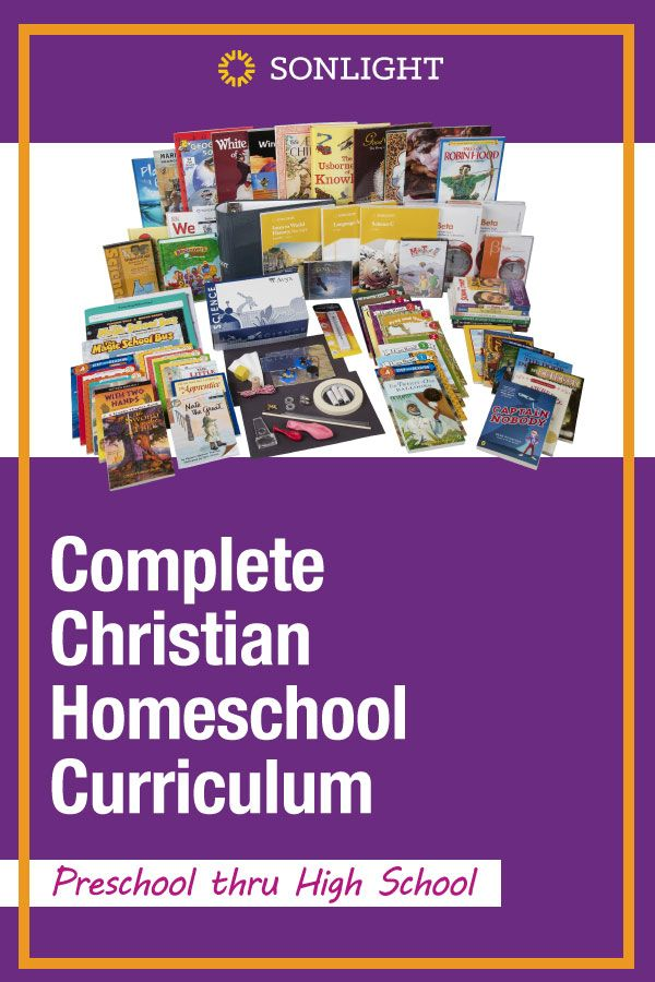 Complete Christian Homeschool Curriculum | Preschool thru High School
