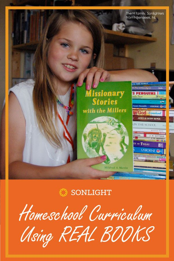 Sonlight | Homeschool Curriculum Using Real Books