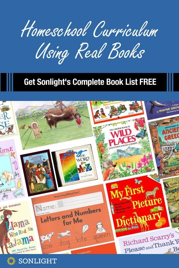 Homeschool Curriculum Using Real Books | Get Sonlight's Complete Book List FREE