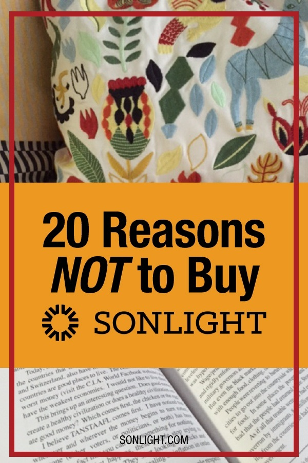 14 Reasons NOT to Buy Sonlight®