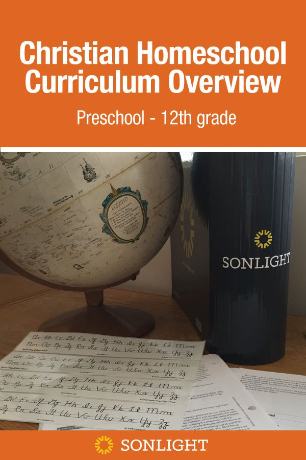 Christian Homeschool Curriculum Overview Preschool - 12th grade