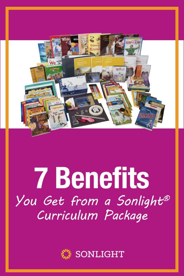 7 Benefits You Get from a Sonlight® Curriculum Package