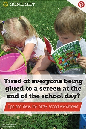 Tired of everyone being glued to a screen at the end of the school day?