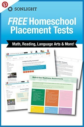 FREE Homeschool Placement Tests | Math, Reading, Language Arts & More!