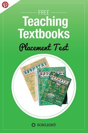 FREE Teaching Textbooks Placement Tests | Homeschool
