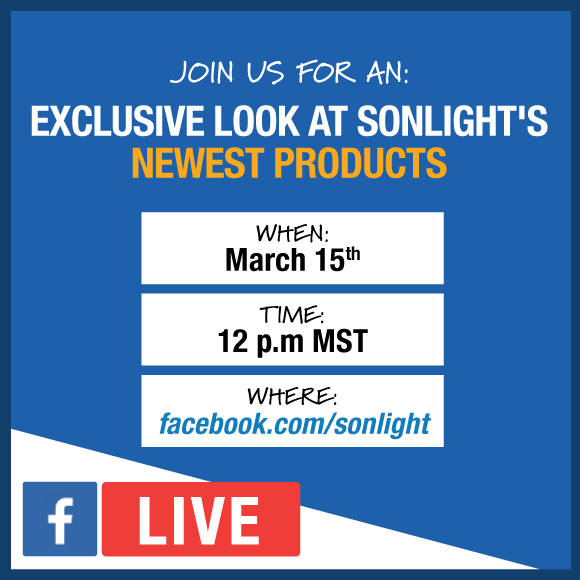 Join us for an exclusive look at Sonlight's newest products on March 15th at 12 pm MST at facebook.com/sonlight