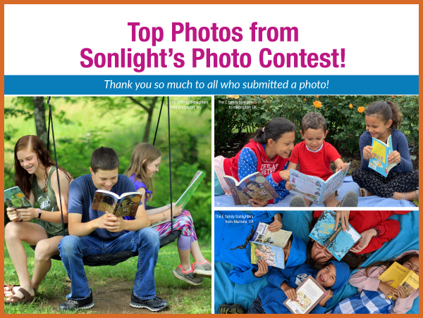 Top photos from Sonlight's Photo Contest