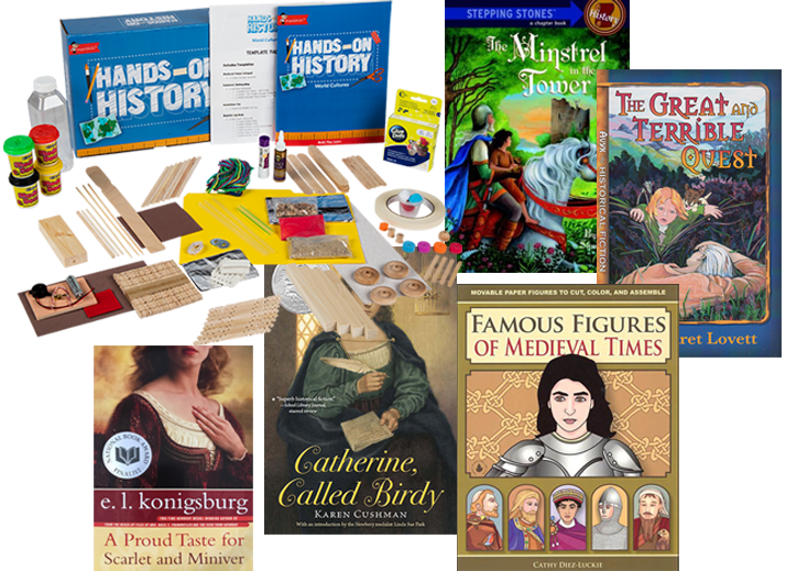 The Middle Ages Read-Alouds + Hands-on Bundle