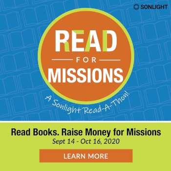 Read for Missions: A Sonlight Read-A-Thon. Learn More