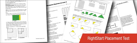 Free Homeschool Math Placement | RightStart Math