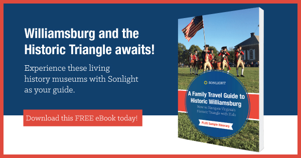 FREE travel guide: Historic Triangle Guide for Colonial Williamsburg, Yorktown, and Jamestown